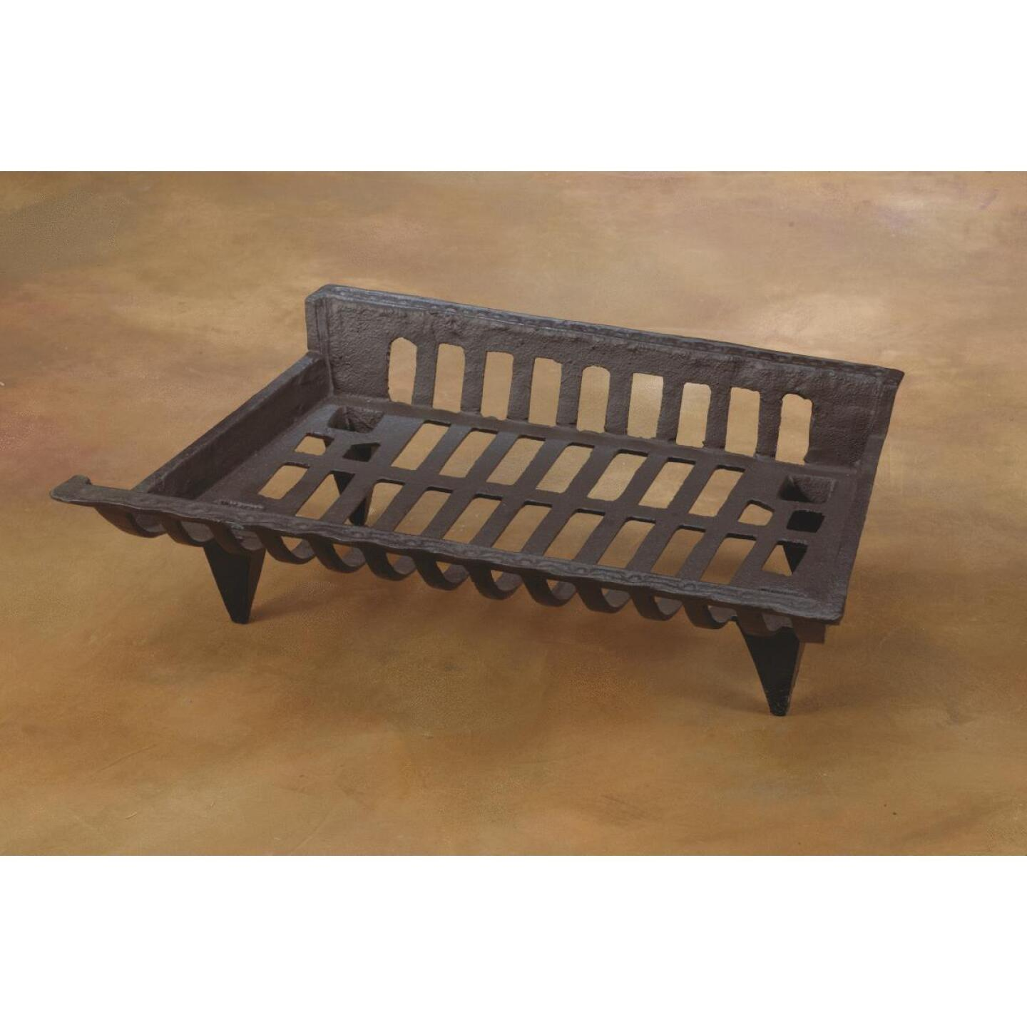 Home Impressions 24 In. Cast Iron Fireplace Grate Image 3