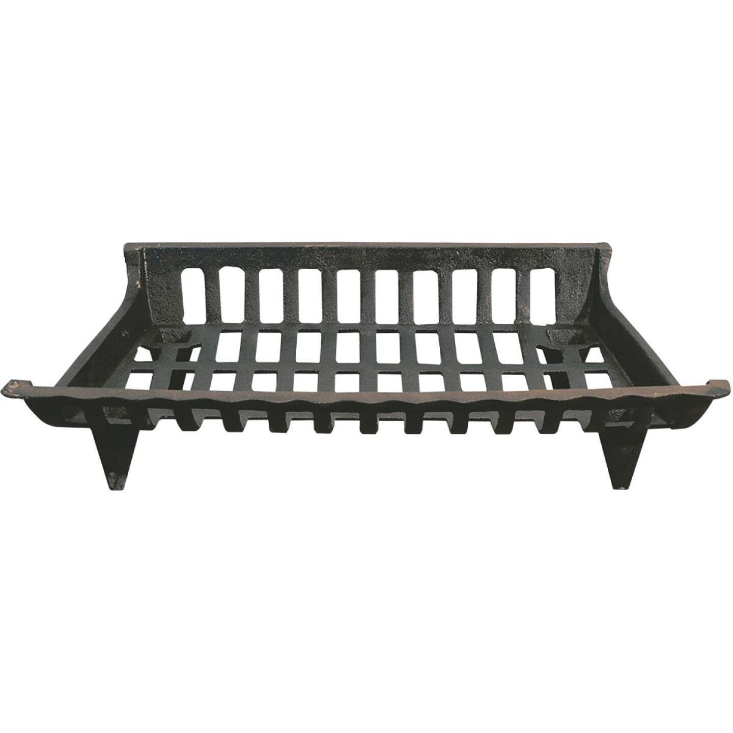 Home Impressions 24 In. Cast Iron Fireplace Grate Image 1
