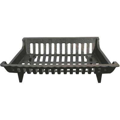 Home Impressions Zero Clearance 18 In. Cast-Iron Fireplace Grate