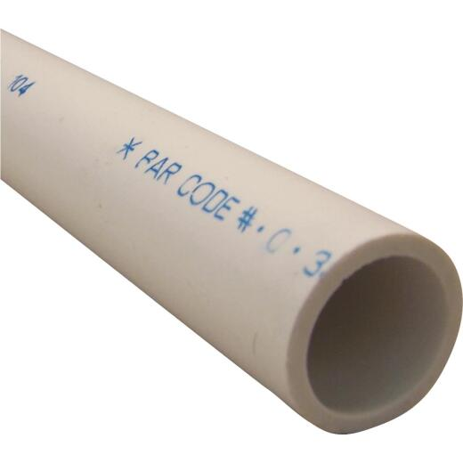 Charlotte Pipe 1 In. X 5 Ft. PVC Schedule 40 Cold Water Pressure Pipe