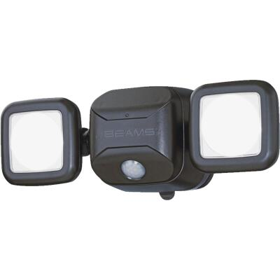 Mr. Beams Brown 500 Lm. LED Battery Operated Security Light Fixture