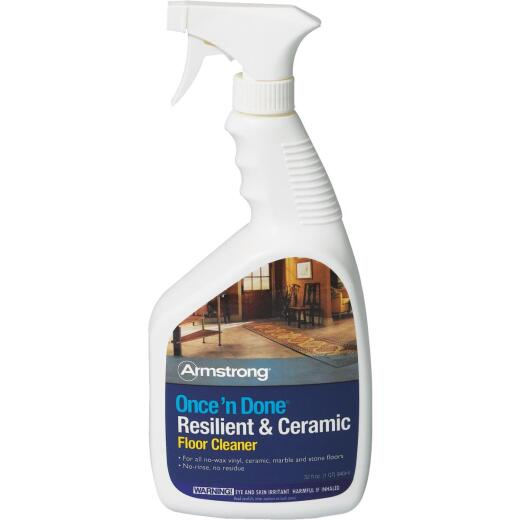 Armstrong Flooring Once 'N Done 32 Oz. Ready-To-Use Resilient & Ceramic Floor Cleaner Spray
