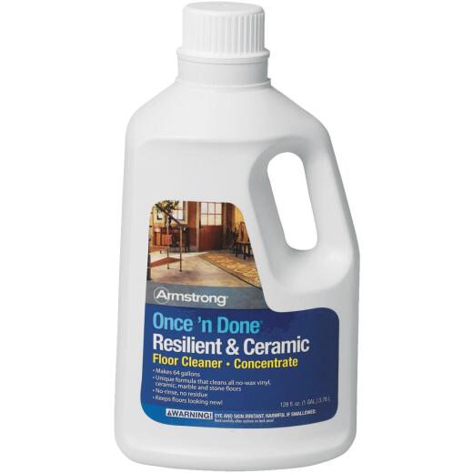 Armstrong Once 'N Done 1 Gal. Resilient & Ceramic Floor Cleaner Concentrate