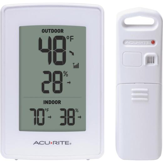 Acurite Digital Weather Station With Indoor & Outdoor Temperature & Humidity