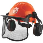 Husqvarna Pro Forest Orange Safety Helmet Image 1