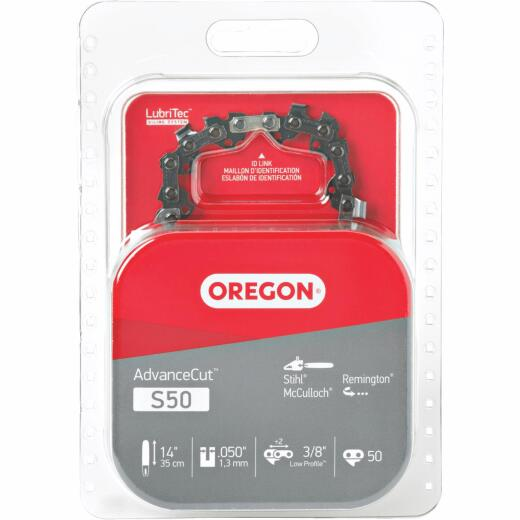 Oregon S50 14 In. Chainsaw Chain