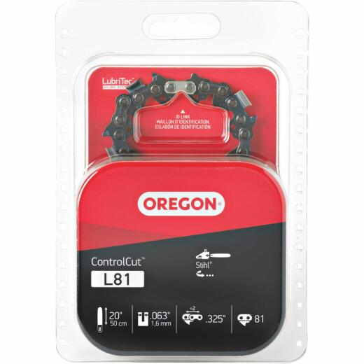 Oregon L81 20 In. Chainsaw Chain