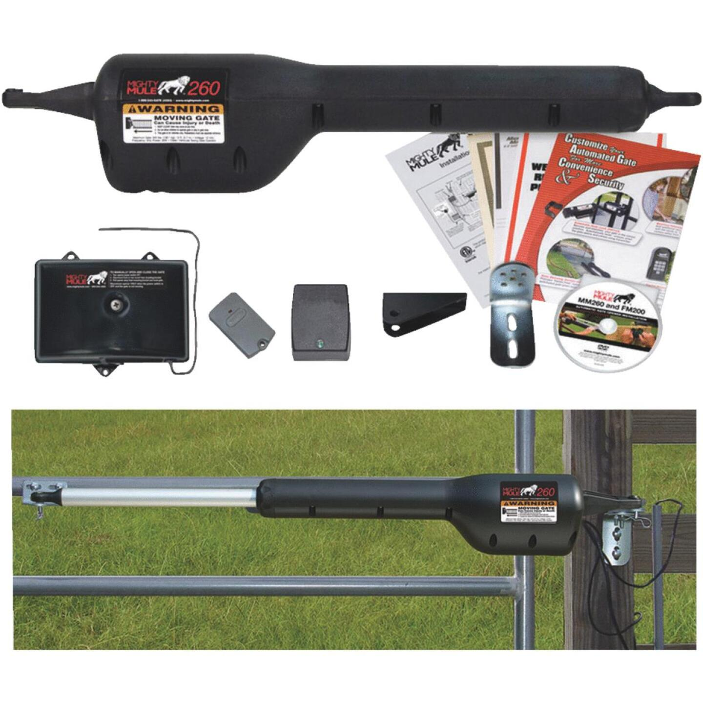 Mighty Mule MM271 12 Ft. 300 Lb. Single Gate Opener Kit Image 1