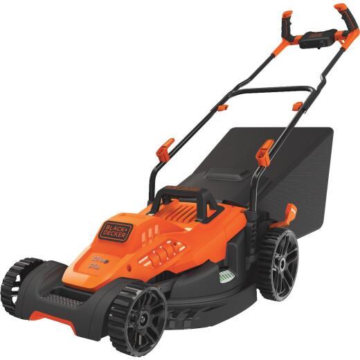Black & Decker 17 In. 12A Push Electric Lawn Mower