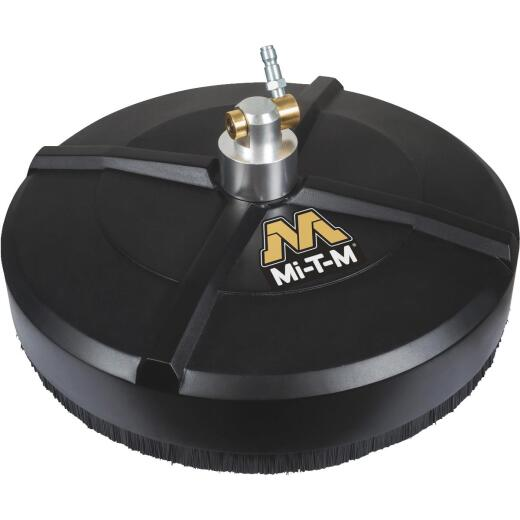 Mi-T-M 14 In. Rotary Surface Cleaner for Gas Pressure Washer with Quick Connect Plug